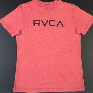 Men's RVCA tee heather red
